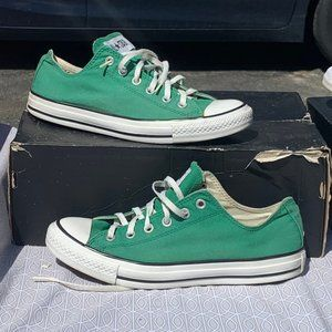 Converse chuck taylor all star low green white